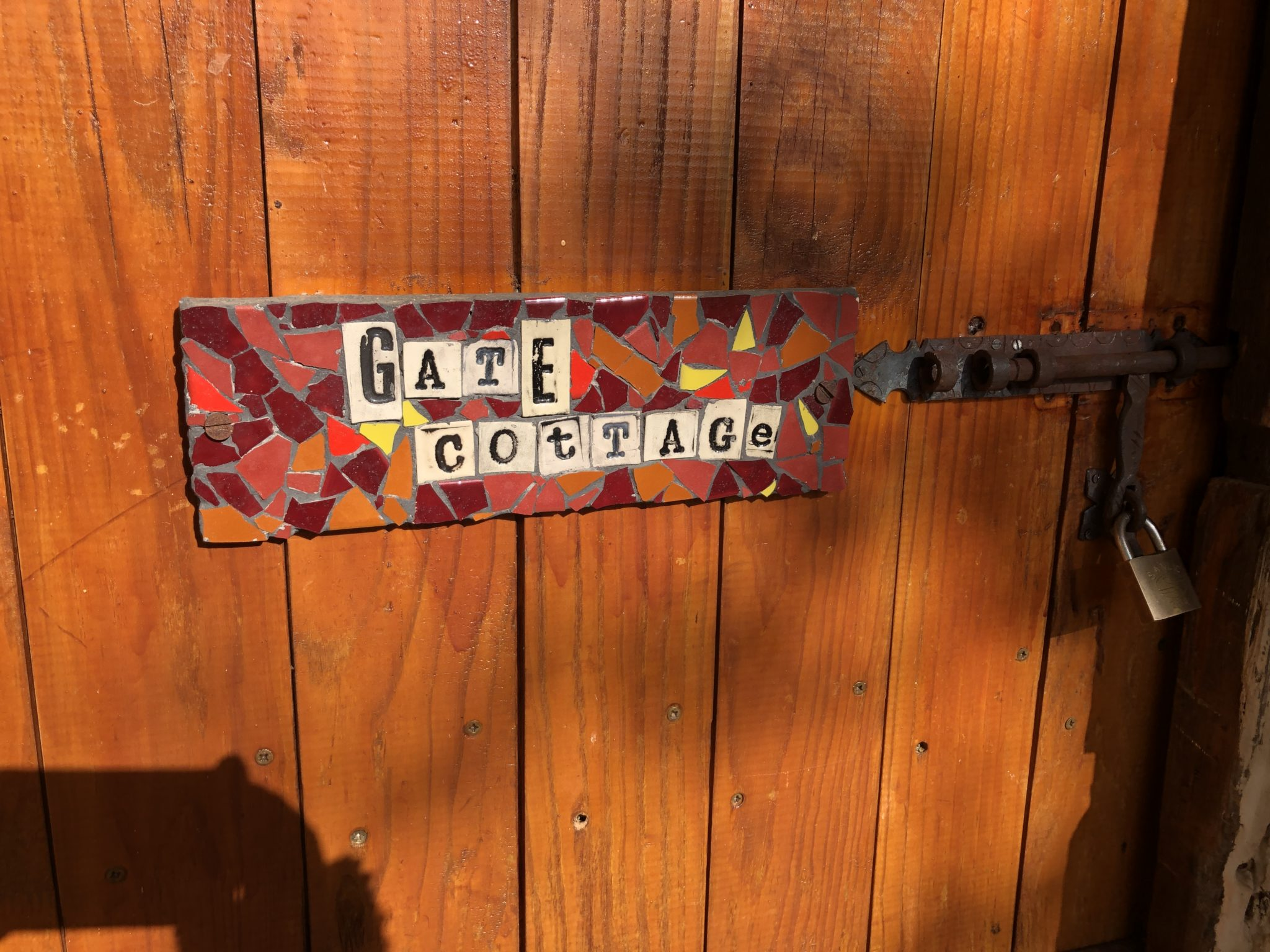 Front Door of the Gate Cottage